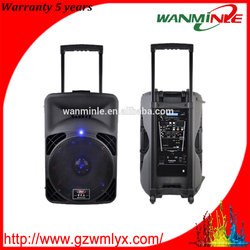 powerful pro active loudspeaker stage speaker for Karaoke concert with USB SD FM remote bluetooth newest audio equipment