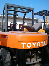 Japan Toyota forklift FD70 with 3 masts froklift from 1.5T 2T 3T 4T 5T 6T 10T to 20t best price japan toyota forklift