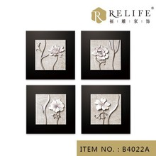 Interior wall design eco-friendly corporate gifts emboss painting designs