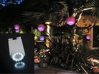 """Outdoor Waterproof Remote Controlled hanging mobile 2.8"""" Led lantern tree Light"""