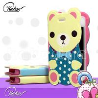 Kube bear series special custom blank cell phone case