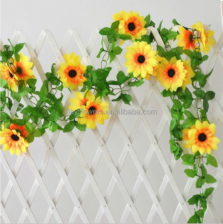 Real Looking Artificial Fake Silk Hanging Flowers Buy