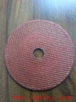 "4"" abrasive cutting disk for metal and stainless steel used in automical cutter"