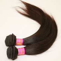 Homeage 100 human raw silky straight wave peruvian hair extentions