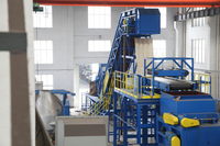 City Garbage Recycling Separating Machine