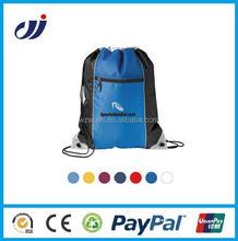Factory price nylon custom cotton drawstring bag