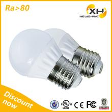 Hot Sale 3W Smd Led Light Bulb Made In Usa / 3W Low Heat No Uv Led Light Bulb