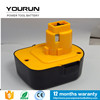 rechargeable dewalt 12v 3.3ah ni-mh batteries for dewalt cordless drills