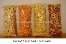 clear bags popcorn packaging pop corn bags