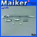 Limpador traseiro cromado exterior acessórios para chevrolet captiva 4*4 acessórios auto de maiker