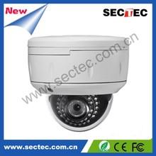 """800TVL Color 1/3"""" SONY ccd dome camera installation"""