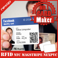 Top Quality Heidelberg CMYK Plastic ID Card Printing with RFID Chips