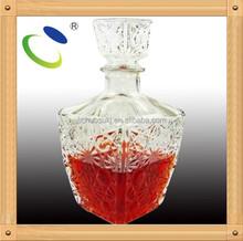 Artículo HSB 132 pequeñas botellas de vidrio venta, toda la venta botella de vidrio, 750 ml botellas de licor