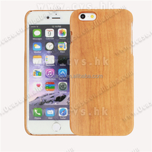 Hot Selling Wood phone case for Iphone 6 wood phone cover for iphone 6 Plus