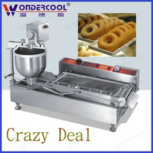 Crazy deal commercial electric automatic donut making machine