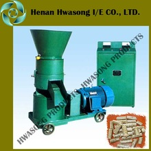 Home use flat die peanut shell/bean husk/rice husk pelletizing machine