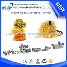 various types pasta macaroni making machines with packaging