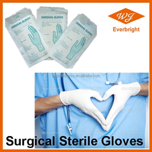 CE ISO sexy surgical gloves, sterile latex gloves