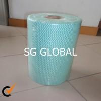 China manufacturer viscose polyester nonwoven spunlace fabric by machine
