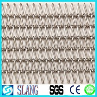 2015 new style for your curtain wall mesh about stainless steel decorative metal wire mesh curtain fabric for upholstery