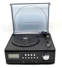 Ultimate Recordable Player &Multi Turntable &Jukebox with cassette Player
