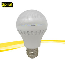 led light bulbs with plastic housing e27 base hot selling for South America market