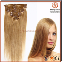 Brazilian Remy Human Hair Extension Wholesale High Quality Full Head Lace Weft Clip In Hair Extension