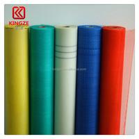 110gr 5mm 1m*43m fiber glass mesh for concrete in Korea