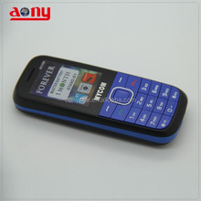 OEM Cheap price low end mobile phone Speadtrum6531 feature cell phone with large battery 1800mah