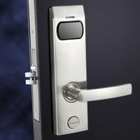 Silver classic CE/ROHS/FCC standard RFID card hotel intelligent lock