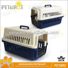 Medium Size Pet Dog Crates With Strolling Wheels