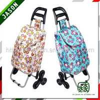 supermarket shopping trolley foldable boot trolley carts