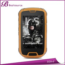 Good quality Android 4.2 4.3inch 4gb waterproof quad core mtk android 4.2 dual sim rugged smartphone with nfc and walkie talkie