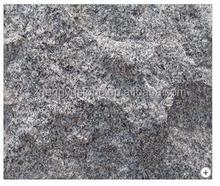 Paving Stone Natural Split G654 black granite kerbstone