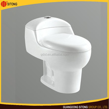 One piece ceramic wc china supplier, soft closing ceramic toilet