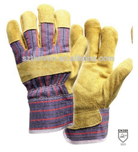 Hand Protection High Quality Pig Split Working Gloves China Manufacture