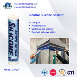 Aristo One Part Neutral Clear or Coloured Silicon Sealant
