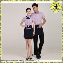 Modern Fitted Fashion Wholesales Tailored Uniform Hotel Reception