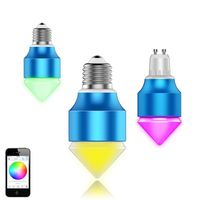 china product online 3w t10 led wedge bulb play by SmartPhone