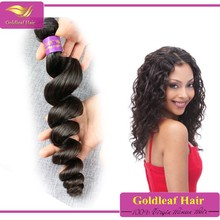 Best selling products Brazilian human hair virgin Brazilian loose wave human hair extensions