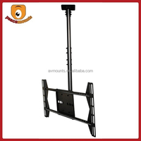 Supports display 32''-52'' weighing up to 125lbs with VESA 400x600 360 degrees rotate drop down Flat Panel TV Ceiling Mount