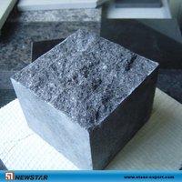 G684 Black Peal,mesh cobblestone,black paving stone