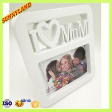 2015 Hot Sales 4X6 Love Mum Plastic Photo Frame