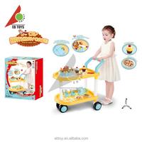 Intelligence toy DIY birthday party plastic cake toys cart toys for kids