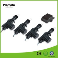 12v dc center lock for cars, central lock motor 2 wire and 5 wire