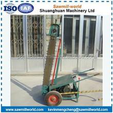 Electric/Gasoline Wood Cross Cut Chain Saw Portable Slasher For 2200MM Wood Log Diameter