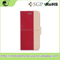 Mixed Colored PU Leather Case for iPhone 6-Unique Design