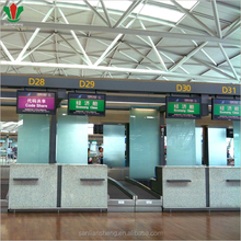 Airport office front desk counter design