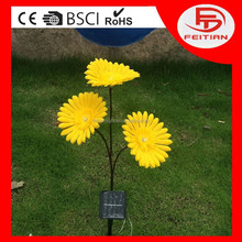 popular led decoration light with flower with CE ROHS GS certificated and new designed popular flower led light