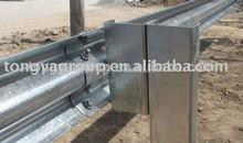 Hot dip galvanized guardrail C channel,steel c post